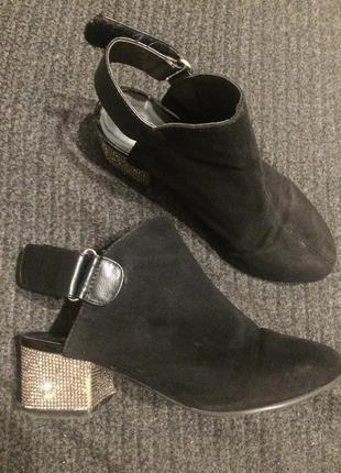 River island летние ботинки сандали замшевые туфли