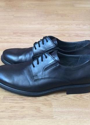 Кожаные туфли fretz men швейцария 41,5 размера
