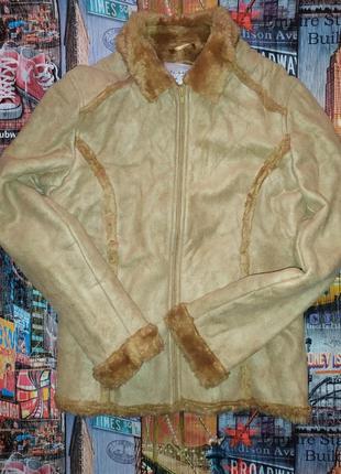 Женская дубленка курточка