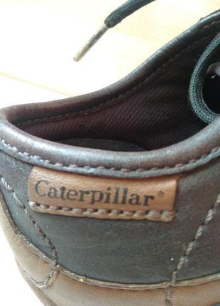 Кроссовки кожаные caterpillar
