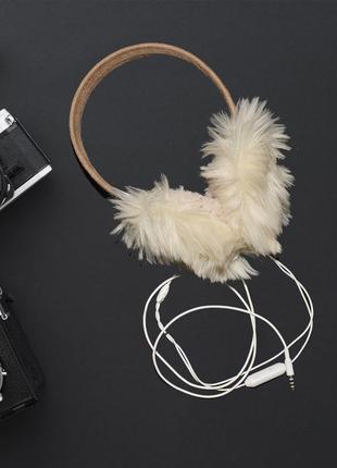 Теплые наушники с функцией воспроизведения музыки и микрофоном
