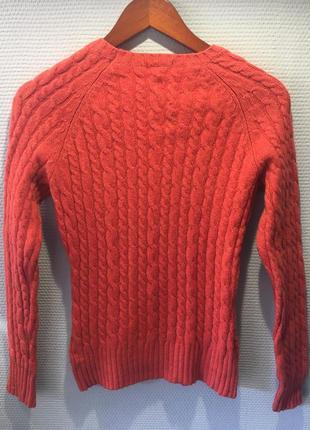 Теплый свитер шерсть популярного американского бренда2 фото