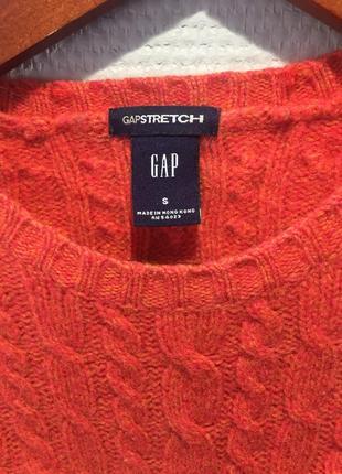 Теплый свитер шерсть популярного американского бренда3 фото
