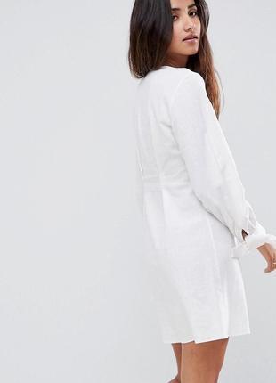 Лляна сукня asos2 фото