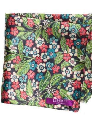 Очень красивый маленький шелковый платочек носовичок от h&m1 фото
