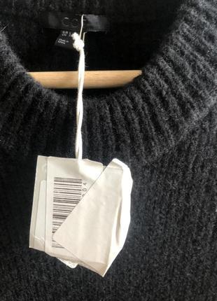 Платье cos  l натуральная шерсть, шёлк3 фото