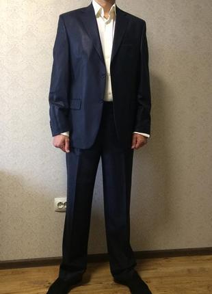 Распродажа!!!деловой/ свадебный/ выпускной костюм + рубашка в подарок!!!!