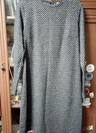 Тепле плаття 46 р1 фото