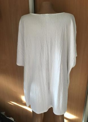 Свободная блуза с пуговками большой размер22-24-264 фото