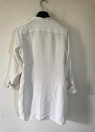 Jil sander шелковая блуза2 фото