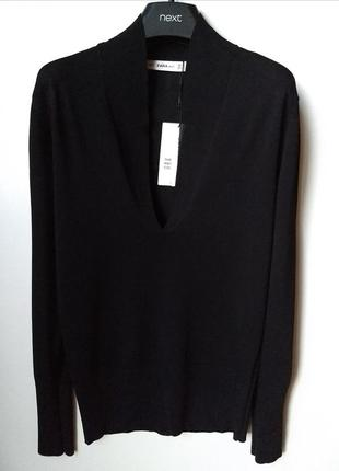 Usa! лимитированная коллекция! zara knit лонгслив/пуловер/джемпер1 фото