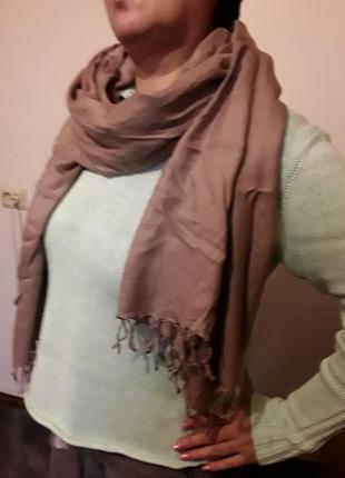 Палантин шарф1 фото