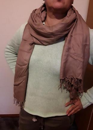 Палантин шарф2 фото