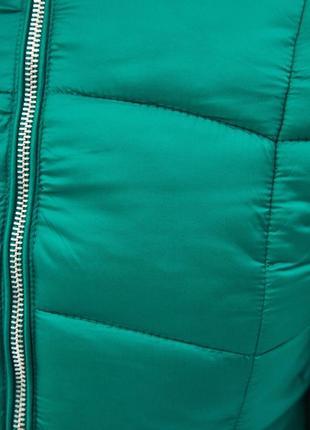Новая теплая зеленая куртка bershka размер l6 фото