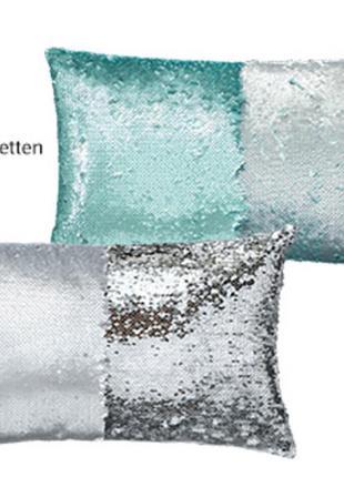 💖 декоративная подушка 50-30, пайетки перевертыши, limit collection, германия