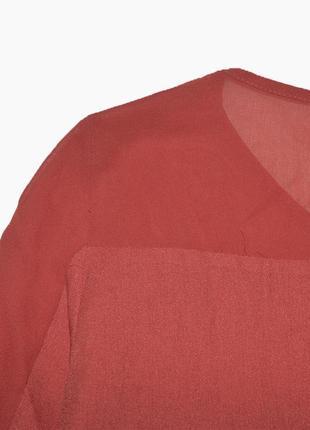 Рубашка блуза с бахромой на груди jimmy key3 фото