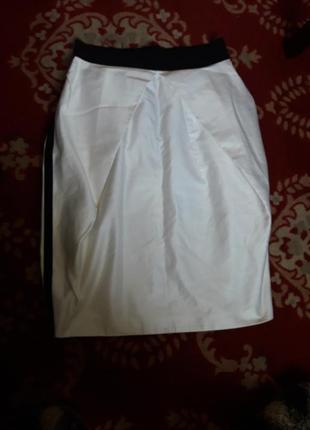 Итальянская юбка с лампасами💣1 фото