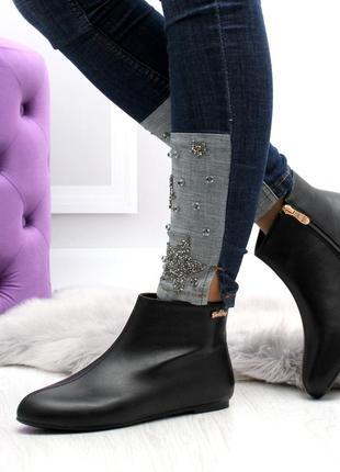 Демисезонные ботинки низкий ход2 фото