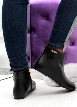 Демисезонные ботинки низкий ход3 фото