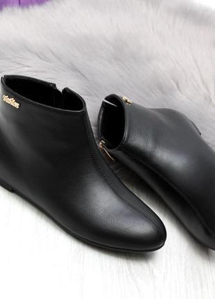 Демисезонные ботинки низкий ход1 фото
