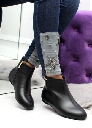 Демисезонные ботинки низкий ход10 фото