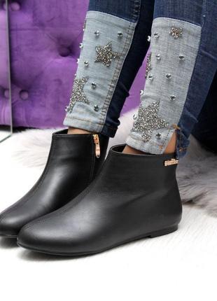 Демисезонные ботинки низкий ход9 фото