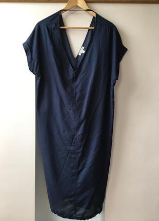 Воздушное платье миди из urban outfitters1 фото
