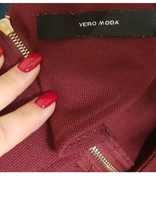 Платье демисезонное с расклешенным рукавом vero moda2 фото