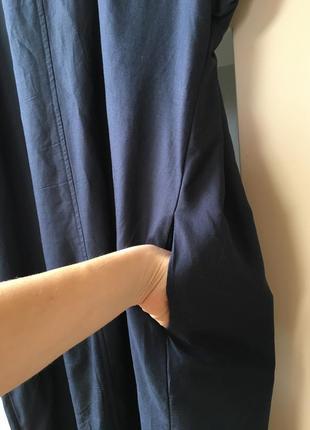 Воздушное платье миди из urban outfitters5 фото