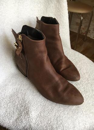 Кожаные ботинки распродажа1 фото