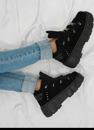 Високі кросівки высокие кроссовки ботинки3 фото