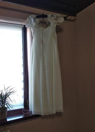 Свадебное платье в греческом стиле со шнуровкой,54,56,58 размер4 фото