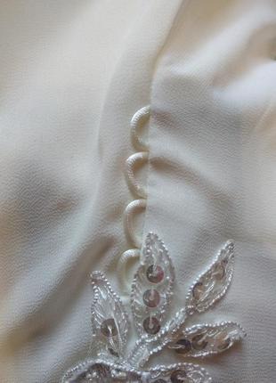 Свадебное платье в греческом стиле со шнуровкой,54,56,58 размер5 фото