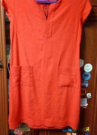 Платье лляное 48 р
