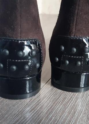 Ботинки ботильоны замш4 фото