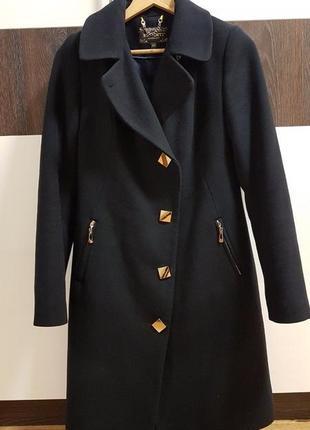 Распродажа!!! шикарное утеплённое демисезонное пальто1 фото