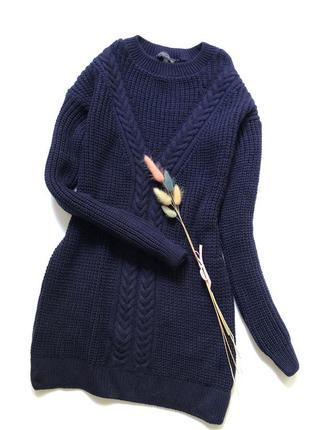 Вязаное платье размер хс-с1 фото