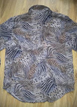 Красивая блузка шёлк2 фото