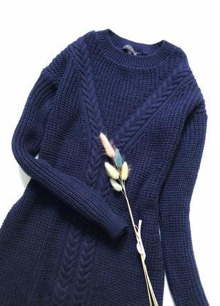 Вязаное платье размер хс-с2 фото