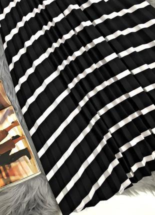 Шикарная актуальная миди юбка плиссе4 фото