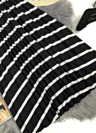 Шикарная актуальная миди юбка плиссе2 фото