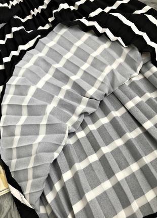 Шикарная актуальная миди юбка плиссе5 фото