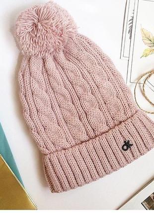 Тепла шапка на підкладці з мікрофлісу1 фото