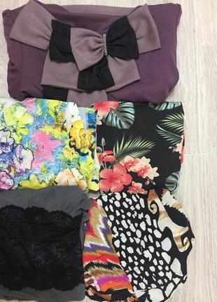 Пакет вещей набор платьев из 5 штук за 500 грн