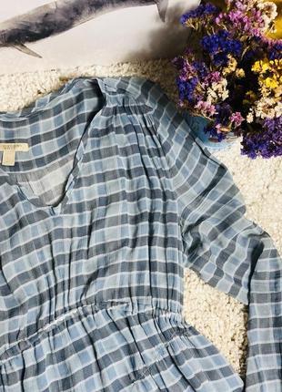 Burberry brit шовкове плаття