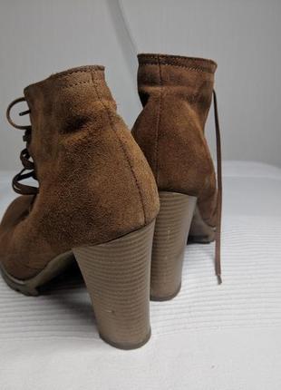 Ботинки замшевые2 фото