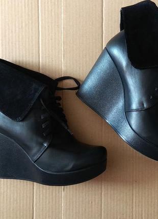 Ботинки ботильйоны деми осень🍂🍁🍁 кожа натуральные1 фото