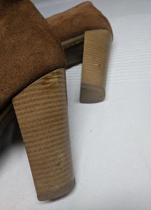 Ботинки замшевые5 фото