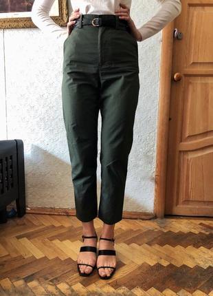 Штаны брюки cos цвет хаки2 фото