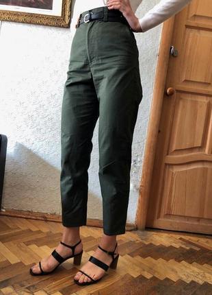 Штаны брюки cos цвет хаки3 фото